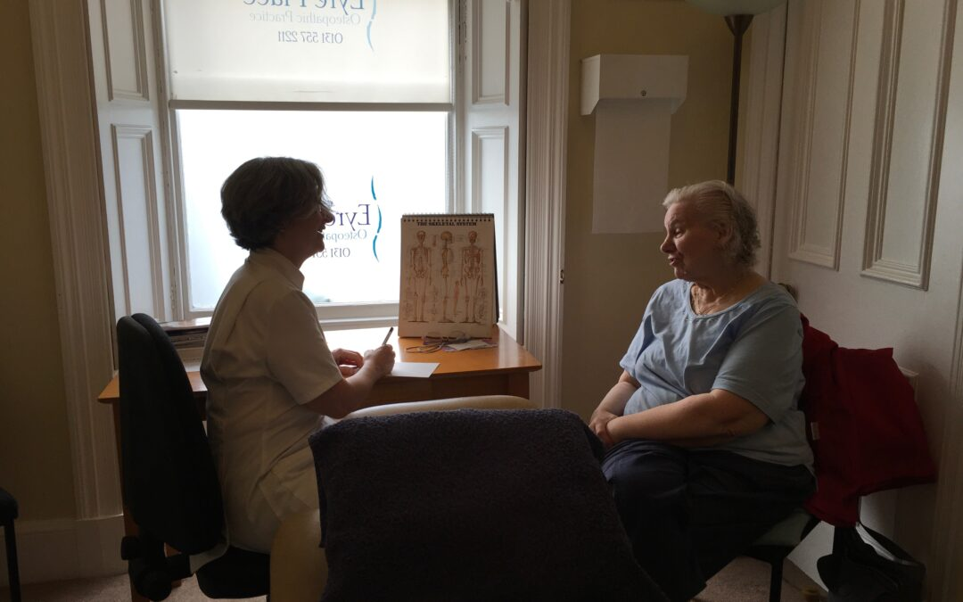 Marie's Osteopathy Journey